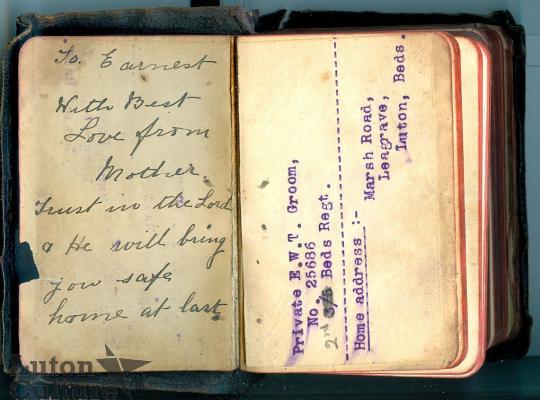 Ernest Groom's Pocket Bible
