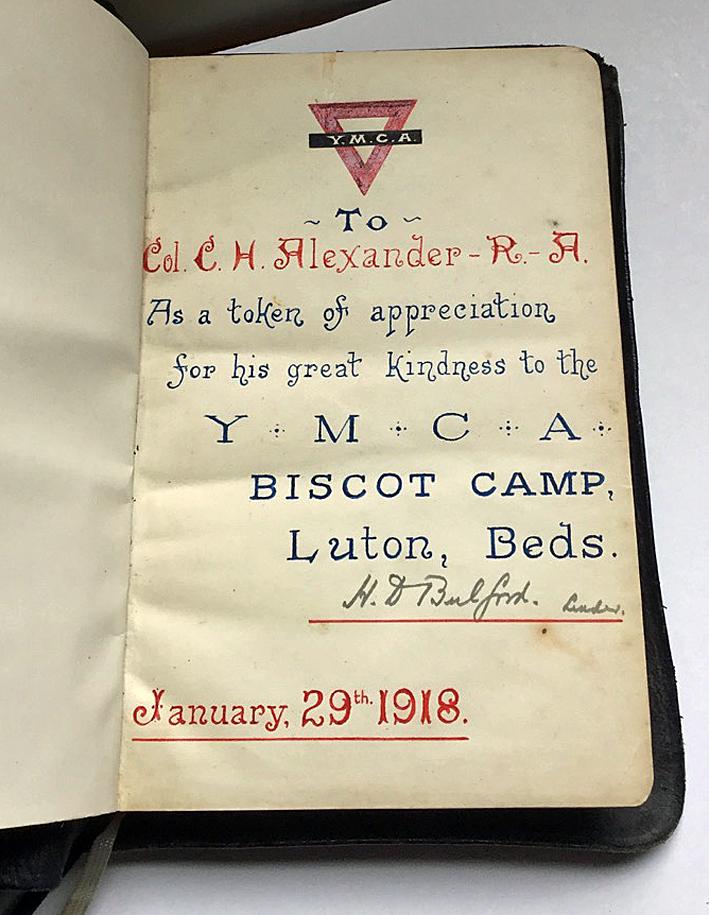 Col Alexander's Bible