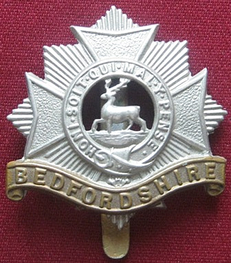 Beds Regt badge