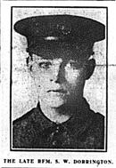 Rifleman Sidney Dorrington