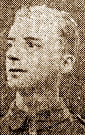 Sgt Percy Wells