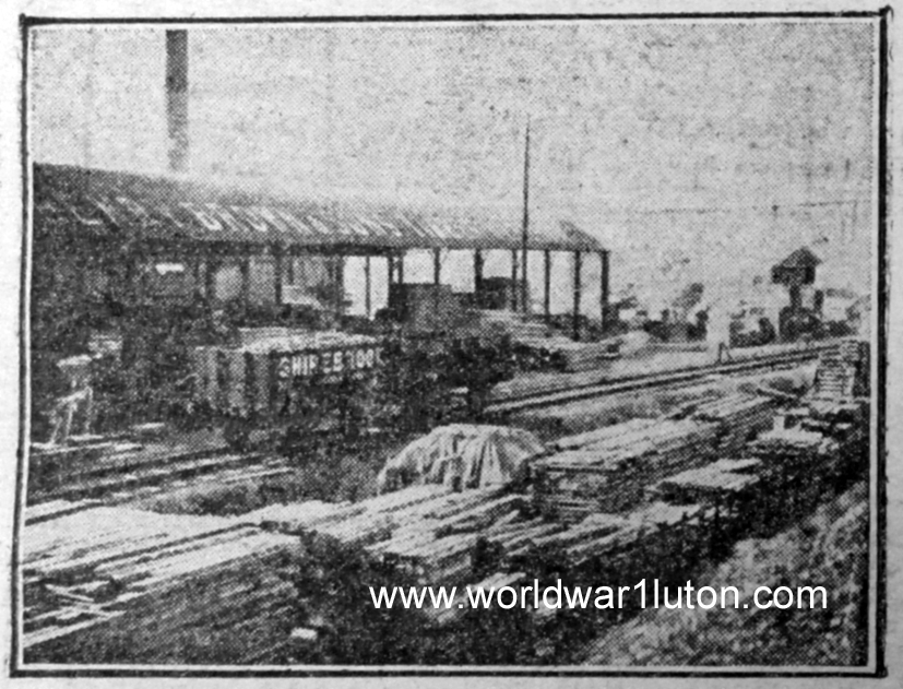 Henry Brown Bute saw mills 1919