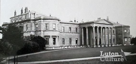 Luton Hoo mansion c1890