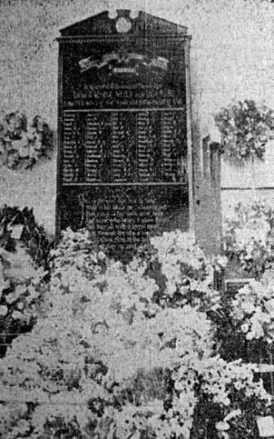 Hitchin Road Boys' School memorial 1921 location