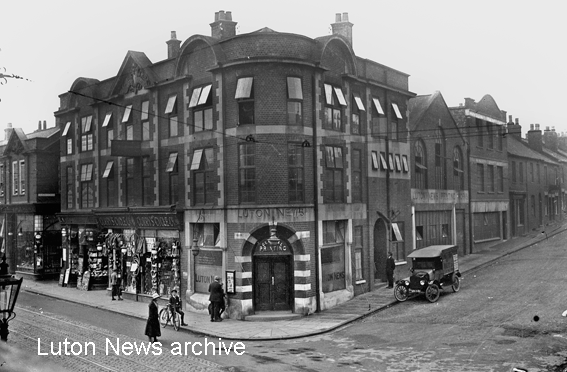 Luton News building Manchester Street
