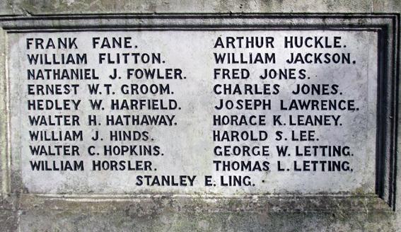 Leagrave War Memorial