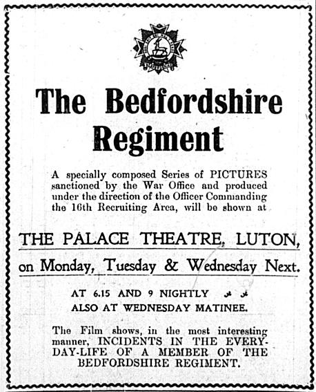 Palace Theatre advertisement