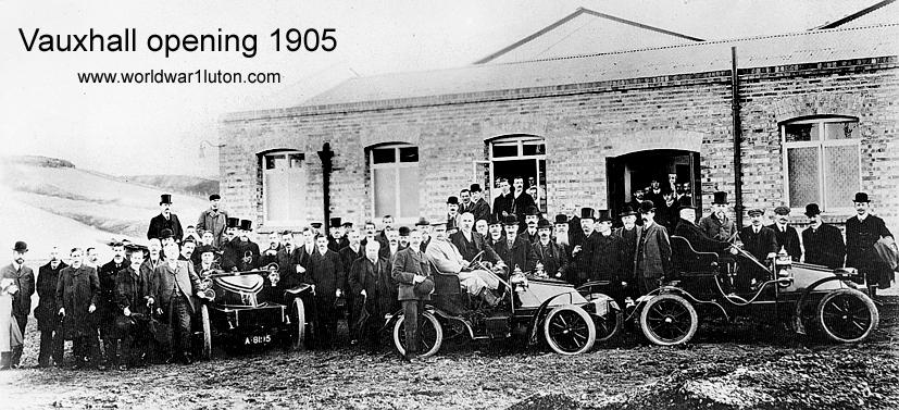 Vauxhall opening 1905