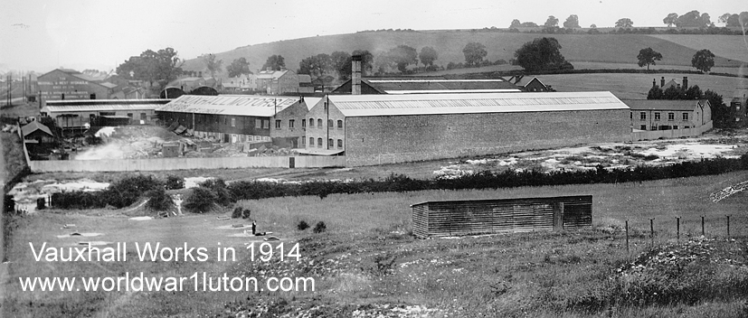 Vauxhall Works 1914