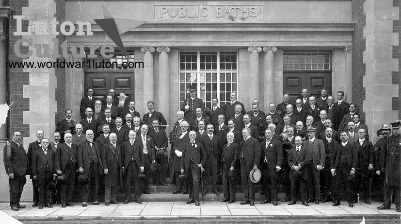 Waller Street Baths opening 1913