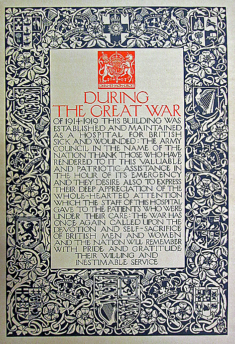 Wardown tribute