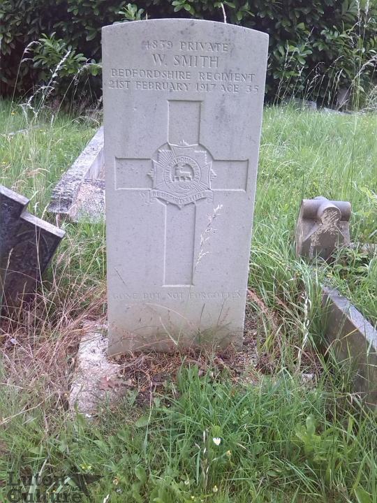 Walter Smith's headstone