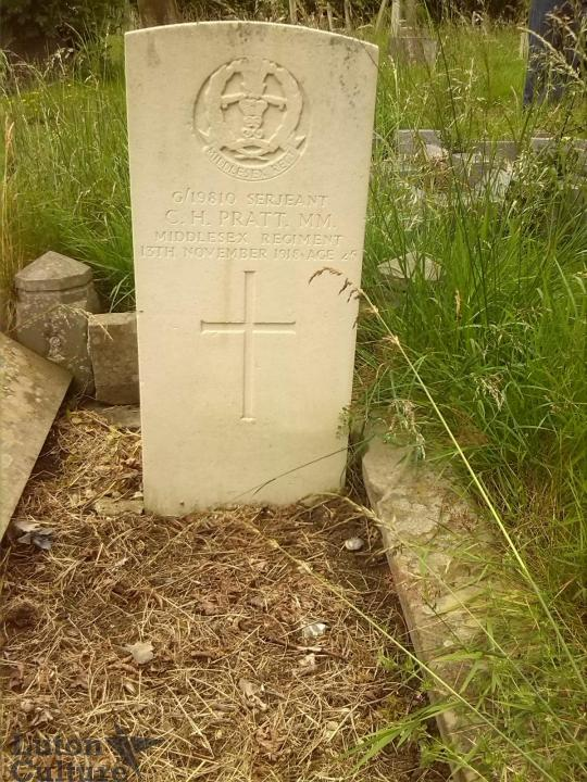 Charles Henry Pratt's headstone