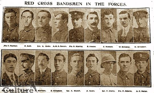 Luton Red Cross Band members