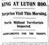 King at Luton Hoo headline
