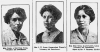 Mary Anne green, centre, flanked by her daughters.